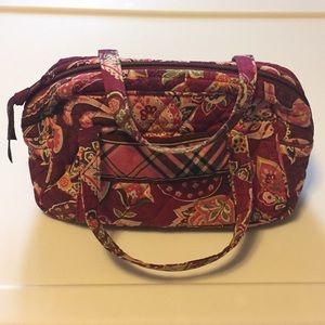 Vera Bradley Piccadilly Plum Small Bag PreOwned